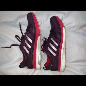 Brand New Purple Adidas Tennis Shoes Size 8.5